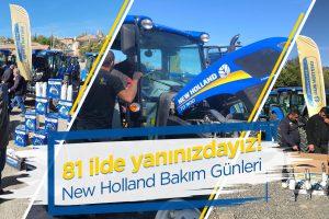 'TOPLU BAKIM GÜNÜ'NDE NEW HOLLAND  81 İLDE ÇİFTÇİLERLE BULUŞUYOR