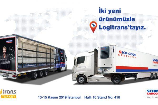 SCHMİTZ CARGOBULL İKİ YENİ ÜRÜNÜYLE LOGİTRANS 2019 FUARI'NDA