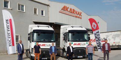 AKARNAK'IN RENAULT TRUCKS İLE YURTDIŞI ÇIKARTMASI